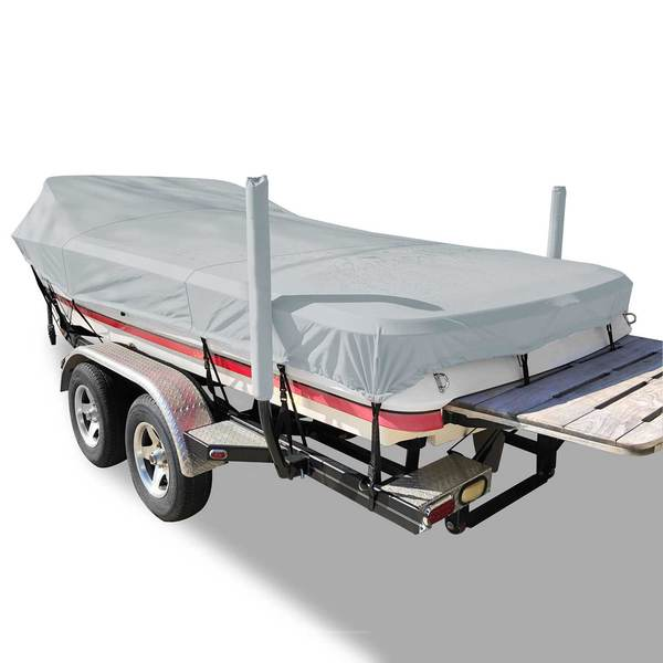 Flex-Fit™ PRO Boat Cover Fish/SKI, 16' - 19'