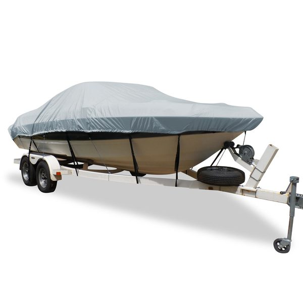 Flex-Fit™ PRO Boat Cover V-Hull Runabout, 17' - 19'