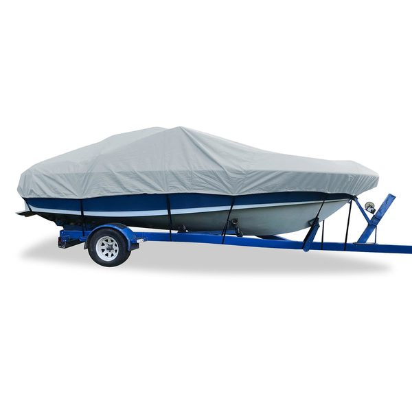 Flex-Fit™ PRO Boat Cover V-hull Cuddy, 19' - 22'