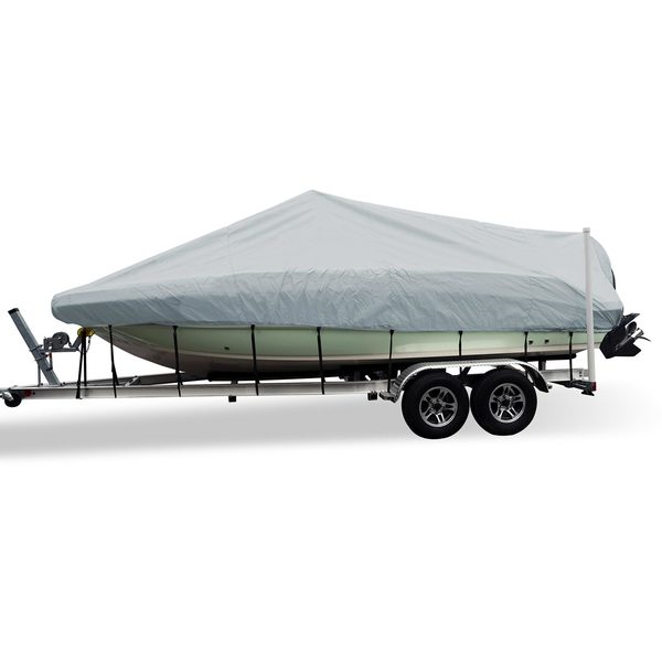 Flex-Fit™ PRO Boat Cover V-Hull, Center Console, 17' - 19'