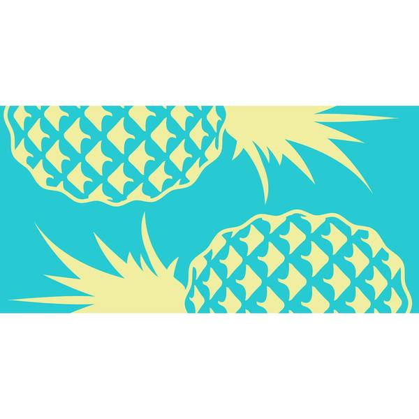Double Pineapple Beach Towel