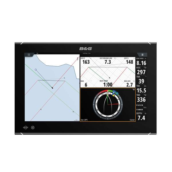 Zeus³ S 16 Multifunction Display with US C-MAP Charts