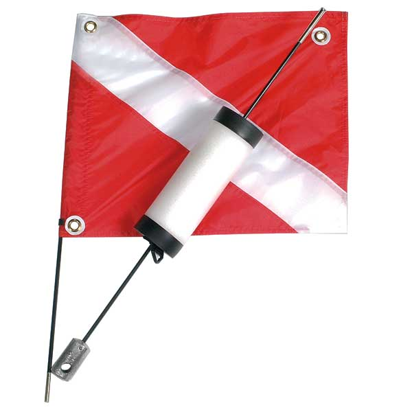 "14"" x 18"" Flag & Float"