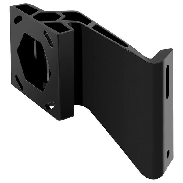 "4"" Raptor Jack Plate Adapter Bracket, Port, Black"