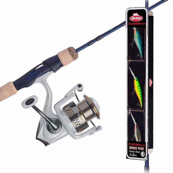 "6'6"" Abu Garcia Max Pro Combo with Berkley Flicker Shad"