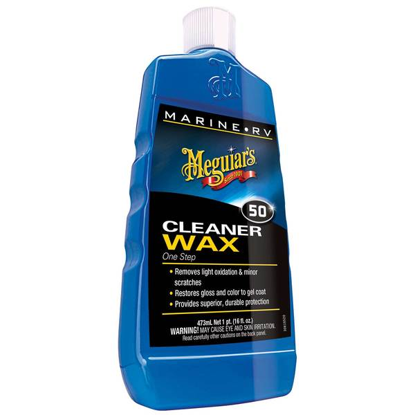 #50 One-Step Cleaner/Wax, Pint
