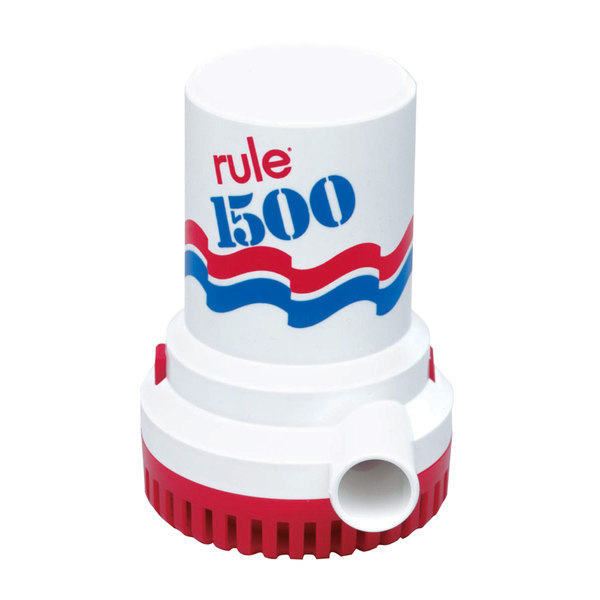 rule industries 1500 gph electric bilge pump west marine Rule Aerator Pump Marine 1500 gph electric bilge pump