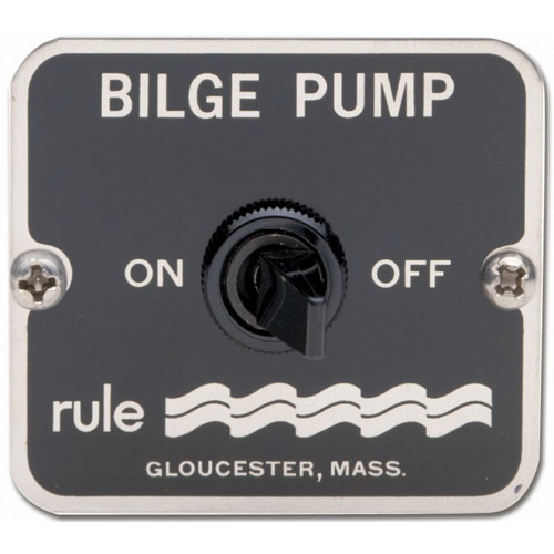 Two-Way Bilge Pump Panel Switch