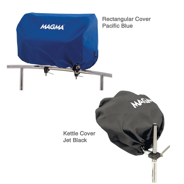 Magma Grill Cover for Kettle Grill - Original - Pacific Blue