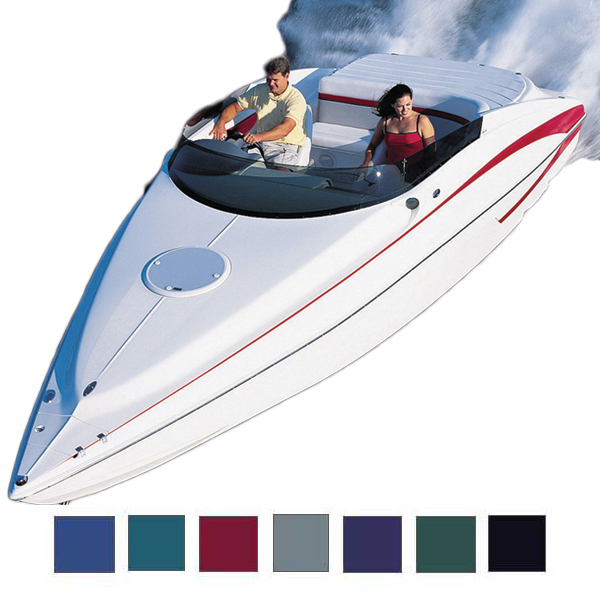 "Ski Boat Cover, OB, Teal, Hot Shot, 16'5""-17'4"", 82"" Beam"