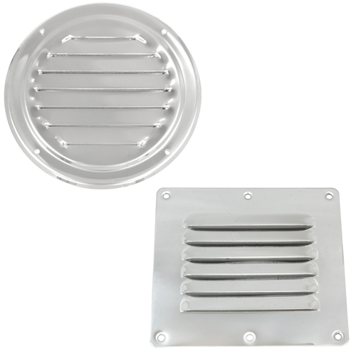 West Marine Stainless Steel Louvered Vents West Marine
