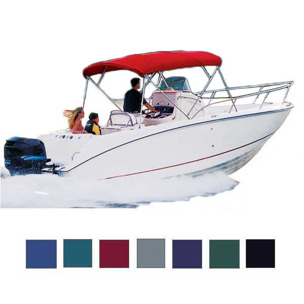 "Offshore Fishing Boat Cover, OB, Teal, Hot Shot, 21'5""-22'4"", 102"" Beam"