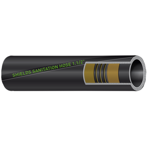 Series 101 No-Odor Super Head Sanitation Hose, Sold Per Foot
