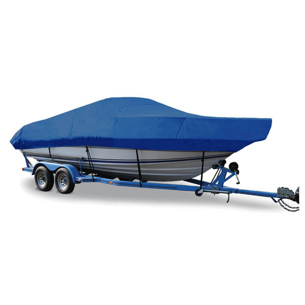 "Walk-Around Cuddy Cover, OB, Pacific Blue, Hot Shot, 21'5""-22'4"", 102"" Beam"