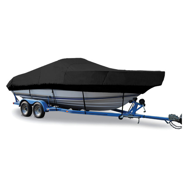 "Walk-Around Cuddy Cover, I/O, Black, Hot Shot, 21'5""-22'4"", 102"" Beam"