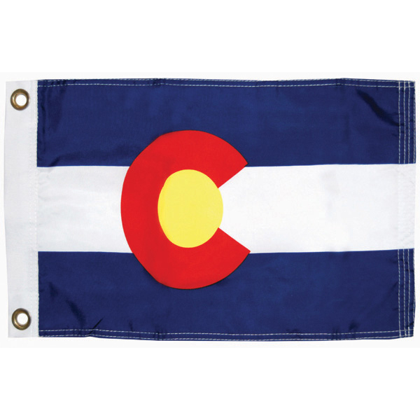 "Colorado State Flag, 12"" x 18"""