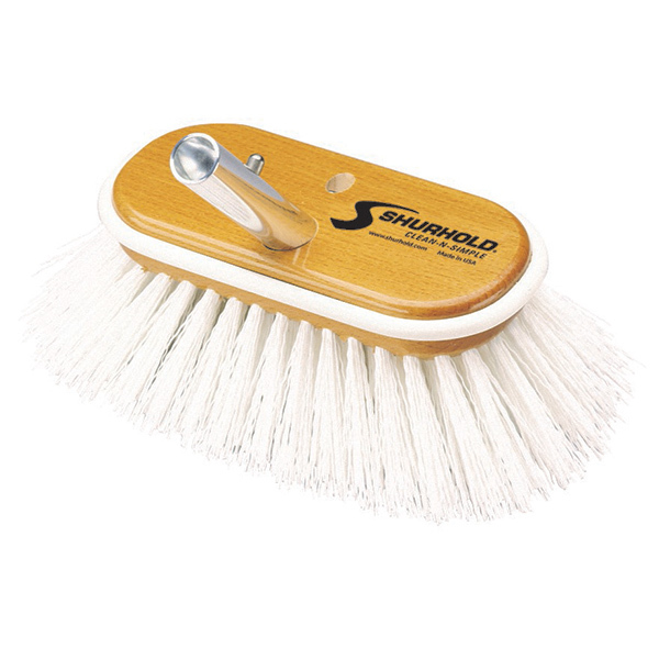 "6"" 950 Deck Brush, Stiff"