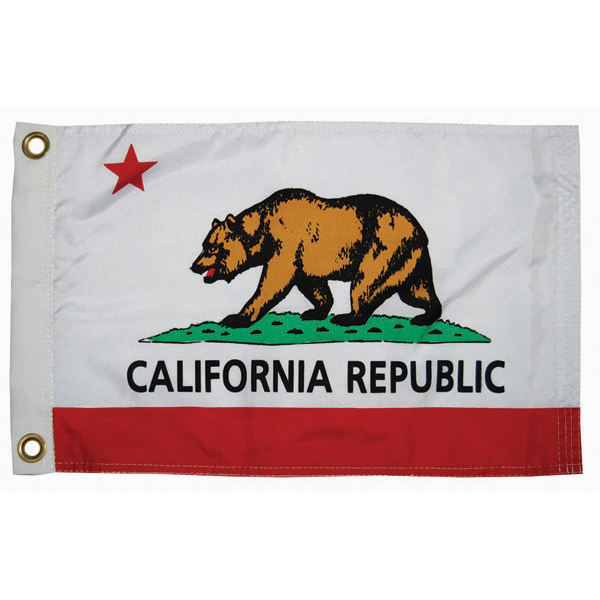 "California State Flag, 12"" x 18"""