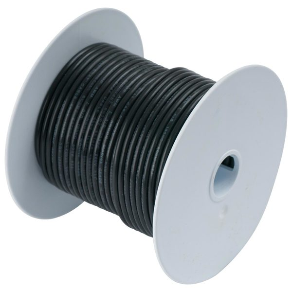 10 AWG Primary Wire, 8' Spool, Black