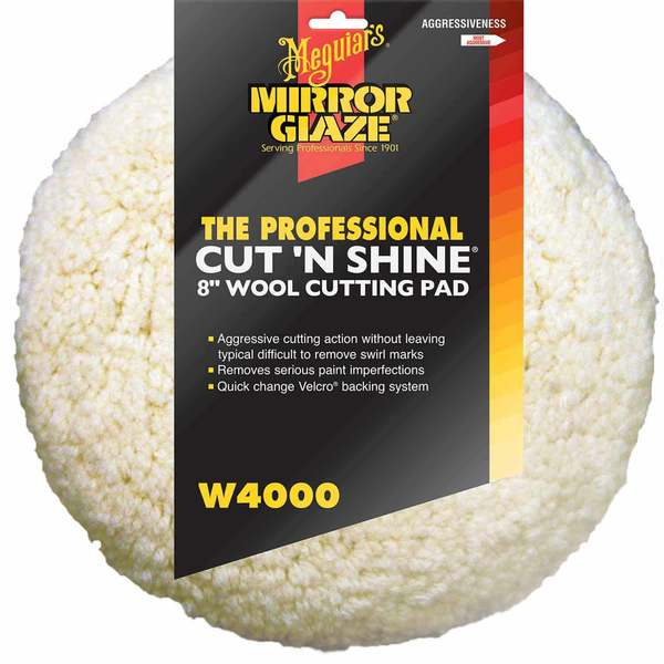 Cut N' Shine Wool Pad