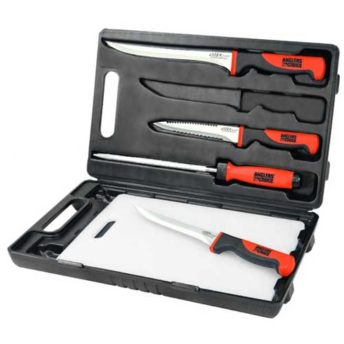 Angler 39 s choice porta fillet kit west marine for Fish cleaning knife