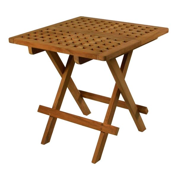 Teak Fold-Away Table