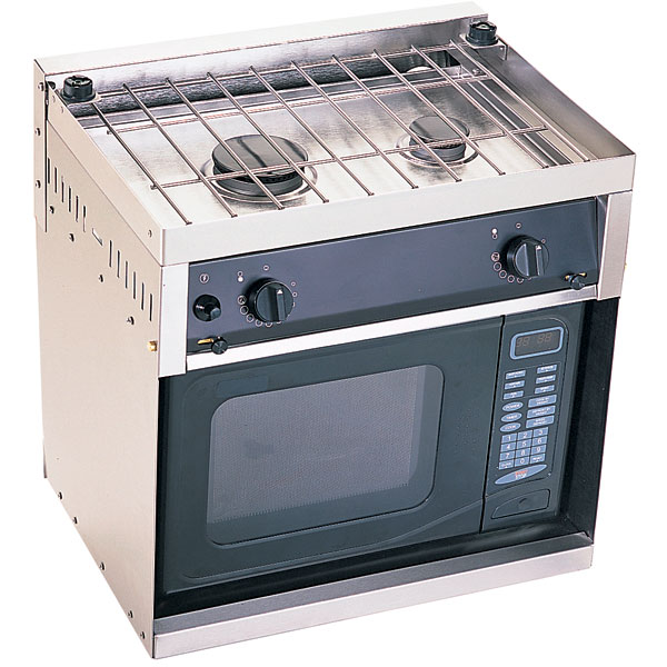 Force 10 Stove With Microwave Cabinet West Marine