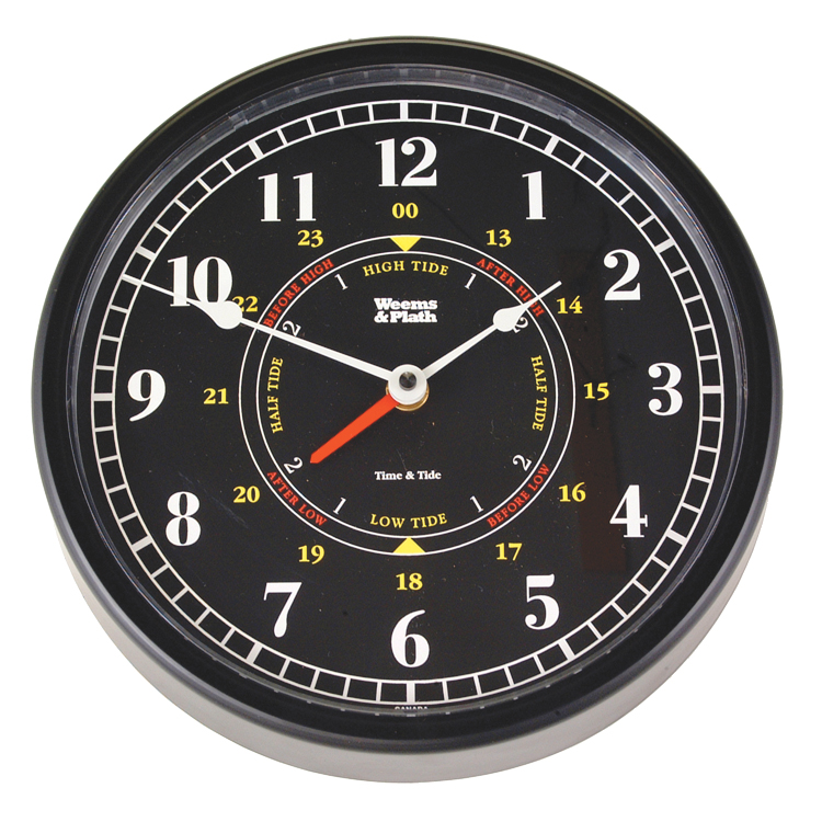 Weems Amp Plath Trident Time Amp Tide Clock West Marine