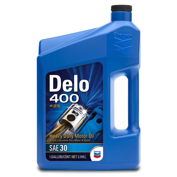 Chevron delo 400 motor oil sae 30 1 gallon west marine for Gallon of motor oil