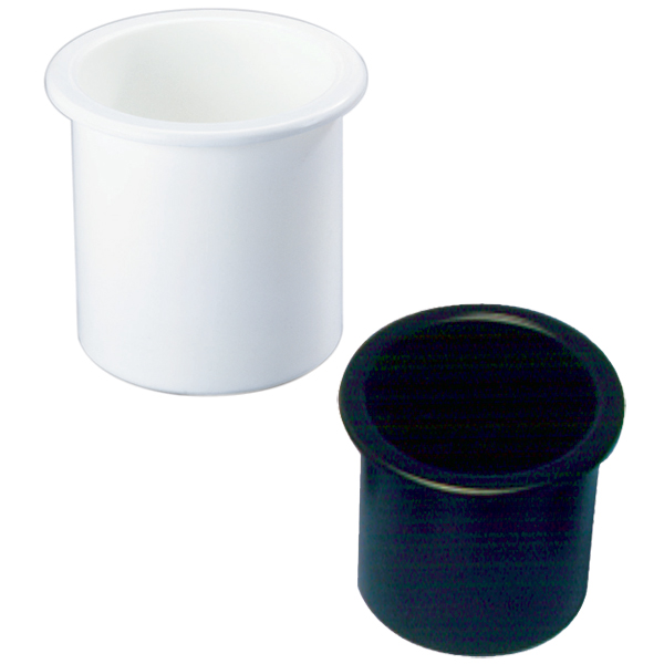 Single Boat 5-Cutout Cup HolderStainless Steel 3 1//4 Inch
