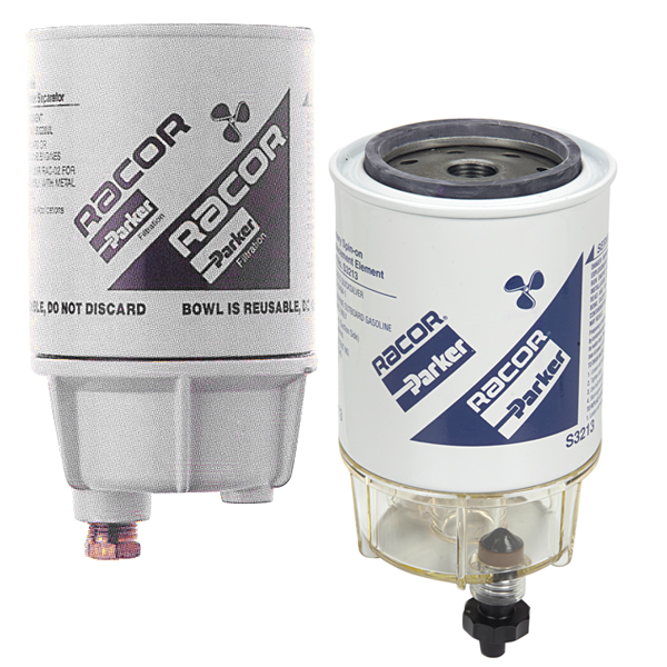 Racor B32013 Outboards Only Filter/Water Separator with See-Thru Bowl 411462