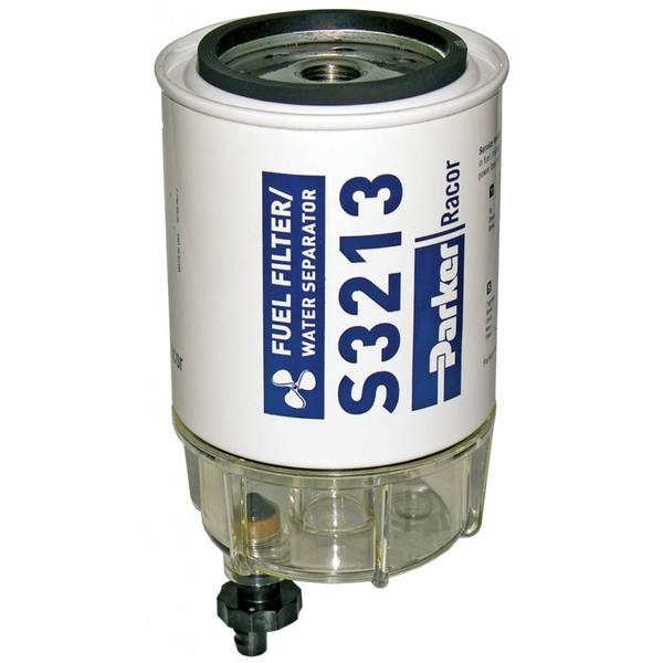 B32013 Spin-On Fuel Filter/Water Separator, 10 Microns