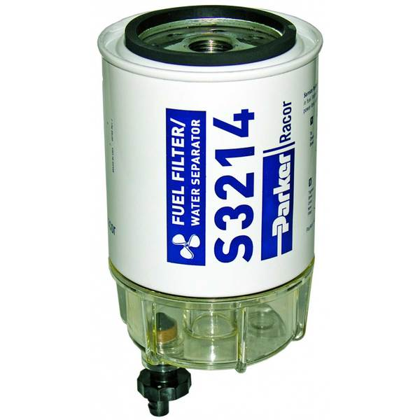 B32014 Fuel Filter/Water Separator with Clear Bowl