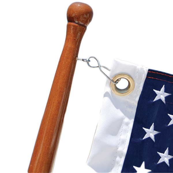 """Taylor Charlevoix Flag Clips One-piece flag clip fits 3//4/"""""""