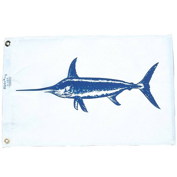 "Swordfish Novelty Flag, 12"" x 18"""