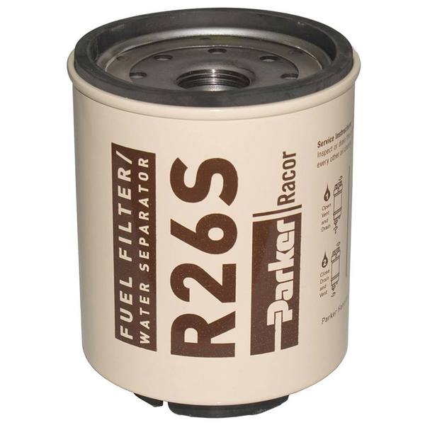 R26S UL Spin-On Fuel Filter/Water Separator For Series 225RMAM, 2 Micron