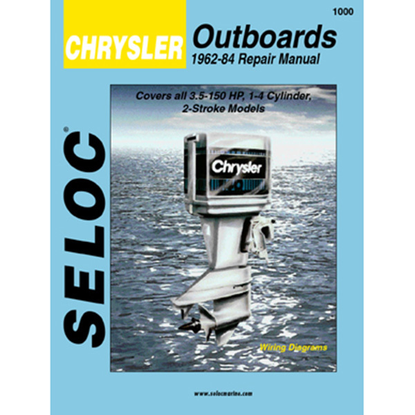 Repair Manual - Chrysler Outboard 1962-1984, 1-4 Cyl., 3.5-150 HP