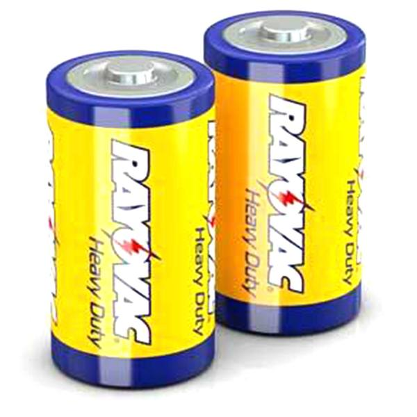 "Alkaline ""D"" Batteries 2 Pack"