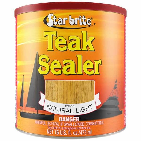Tropical Teak Oil Sealer, Natural Light, Quart