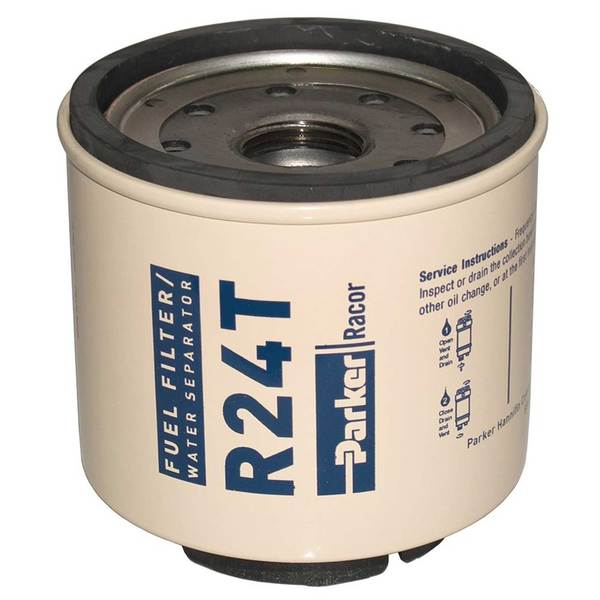 R24T Spin-On Fuel Filter/Water Separator For Series 220R, 10 Micron