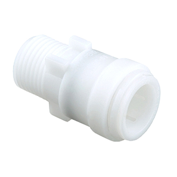 "Male Thread Connector, 1/2"" CTS x 1/2"" NPT"