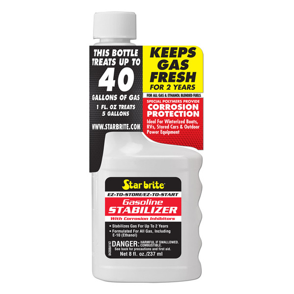 EZ-To-Start Fuel Additive/Stabilizer, 8 oz.
