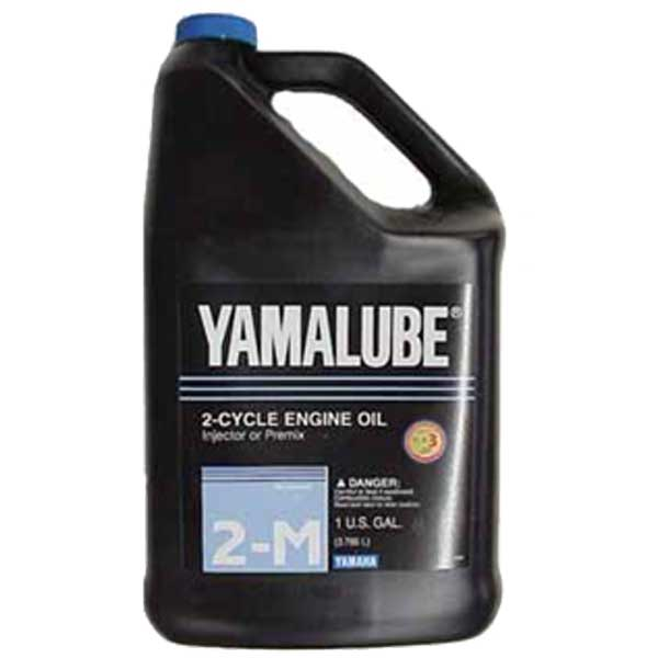 Yamalube 2M Outboard 2-Cycle TCW3 Engine Oil, 1 Gallon