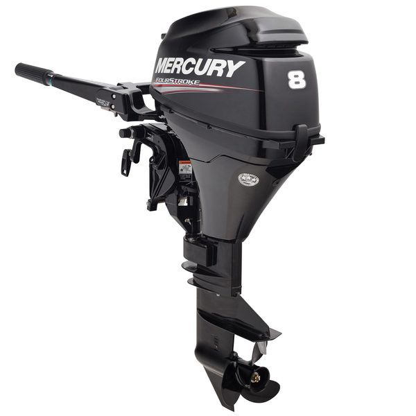 "8hp 4-Stroke Outboard, 20"" Shaft Length"
