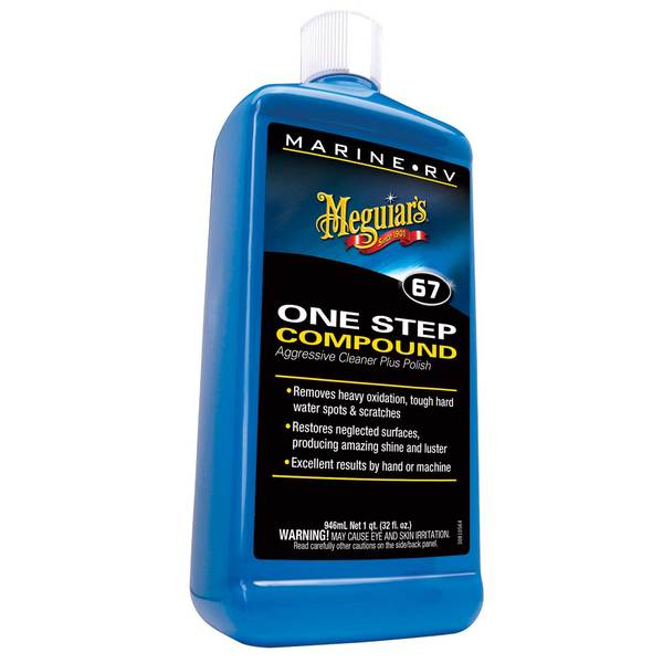One-Step Compound Wax & Polish