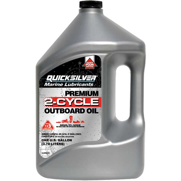 Mercury Marine Premium 2 Cycle Tc W3 Outboard Oil West