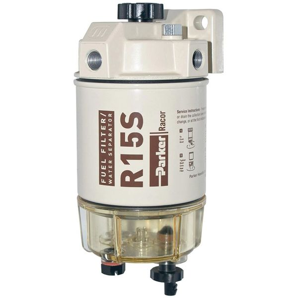 RACOR 215R2 Spin-On sel Fuel Filter/Water Separator, 15 GPH ...