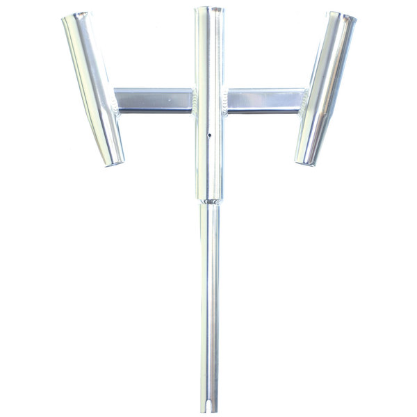 Triple Aluminum Straight Butt Kite Rod Holder