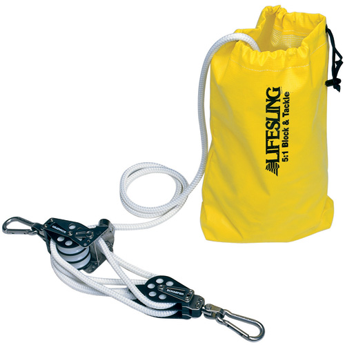 5 To 1 Lifesling Hoisting Tackle For Boats
