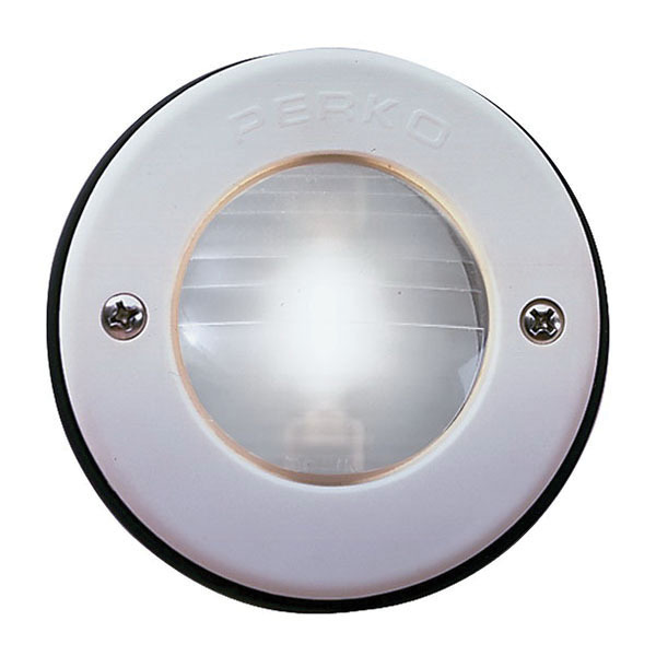 Reduced Glare Cockpit Light, 12 Volts, White